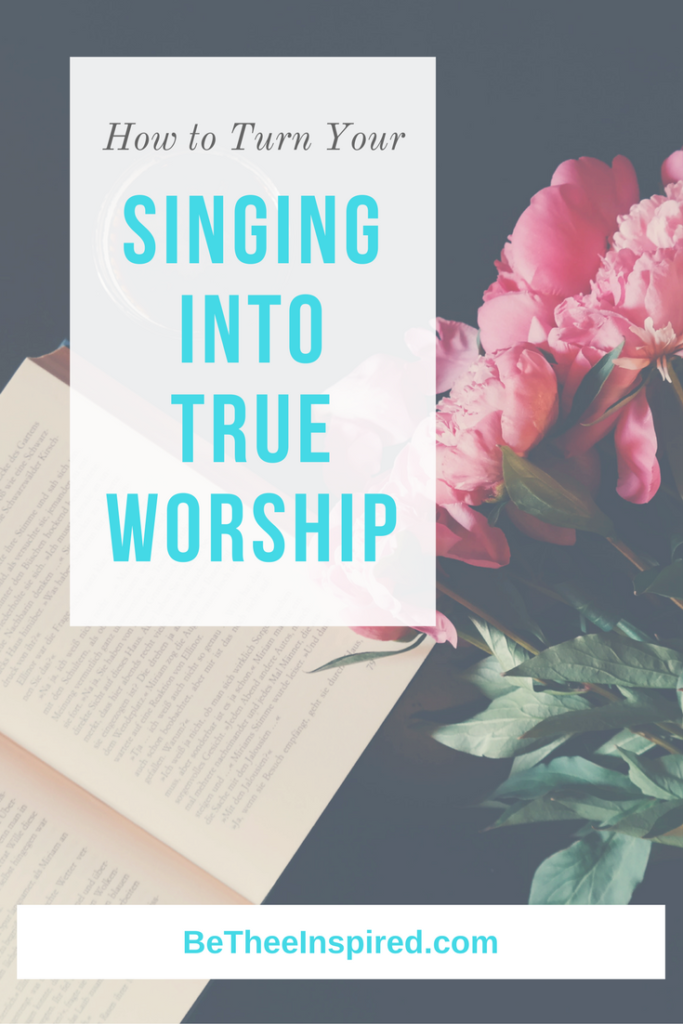 Cultivating a Heart of Worship - Be Thee Inspired